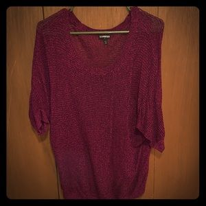 Loose fitting Express Sweater (3/4 length sleeves)